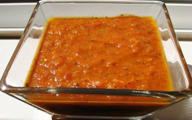 Crema di pomodoro alla spagnola