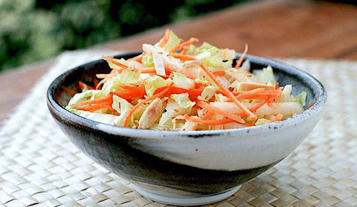 Insalata di verze e carote