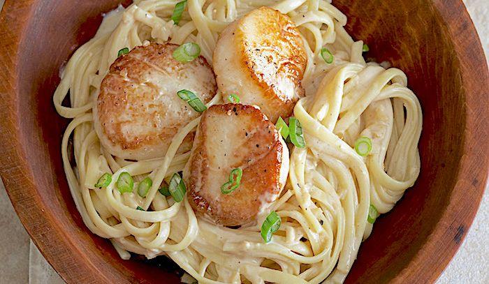 Risultati immagini per immagine noodles di capesante