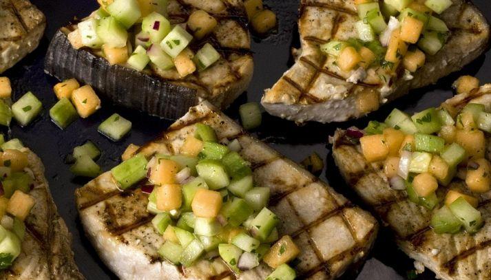 Pesce spada ai cetrioli