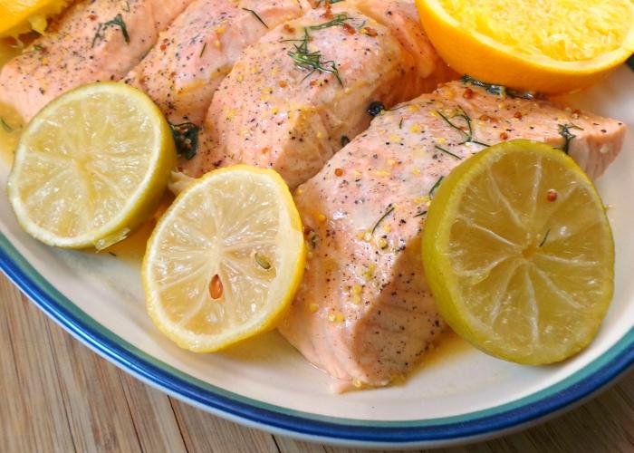 Salmone bollito la ricetta di buonissimo