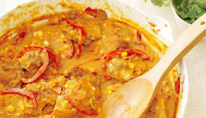 Sformato di riso al curry
