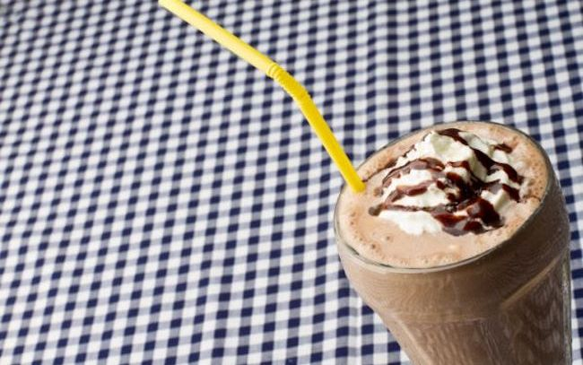 Frappè alla vaniglia e cioccolato