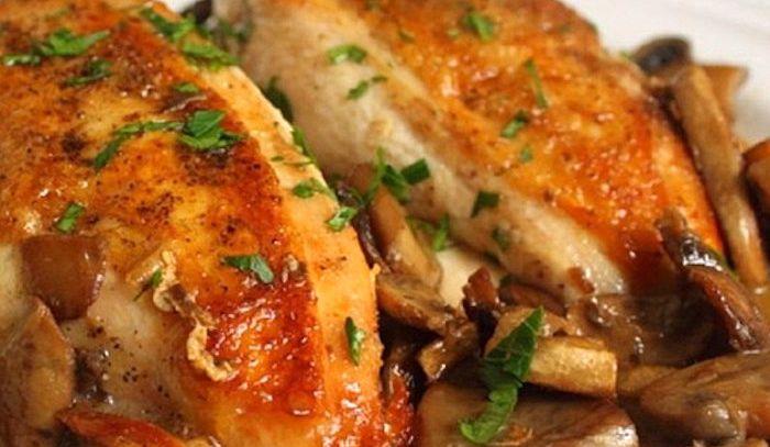 Pollo alla bretone