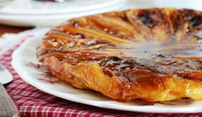 Crostata con indivia belga