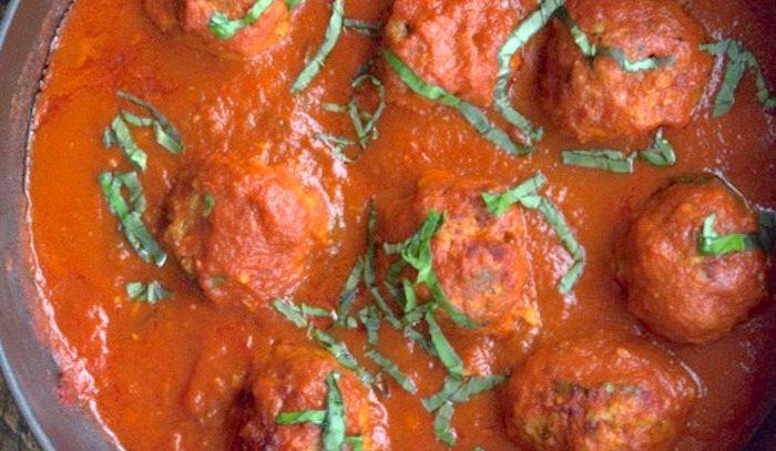 Polpette di sardina in salsa di pomodoro