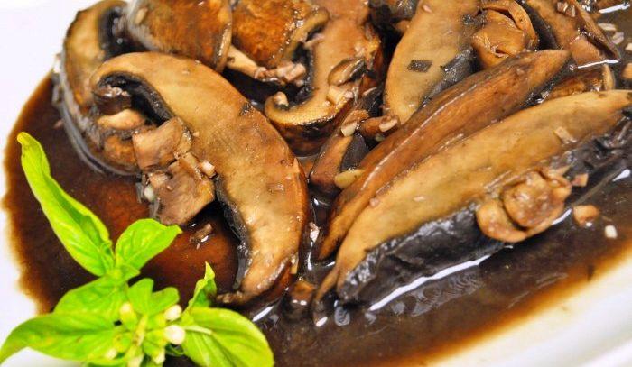 Funghi a funghetto alla genovese