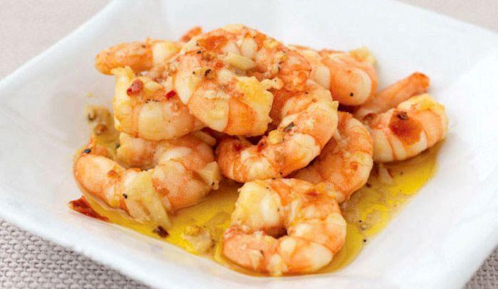 Gamberi all 39 aglio la ricetta di buonissimo for Cucinare scampi