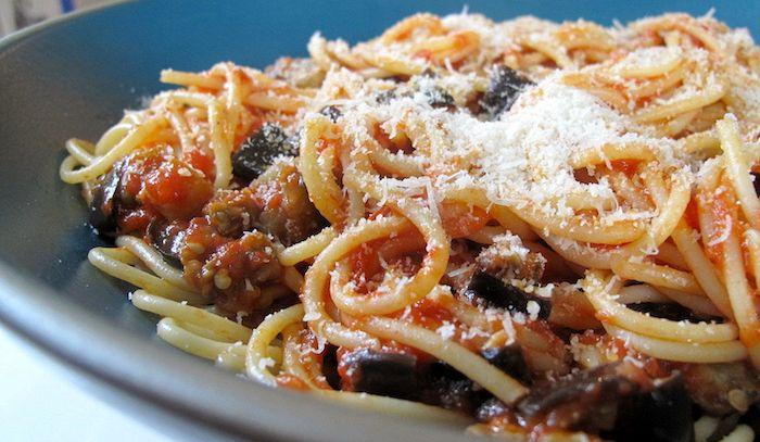 Spaghetti alle melanzane