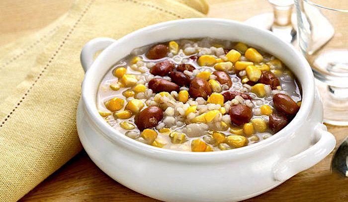 Zuppa di granoturco