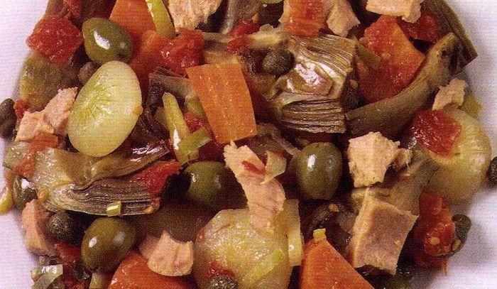 Tonno e ortaggi all'italiana