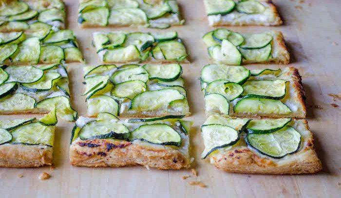 Zucchine in crostata