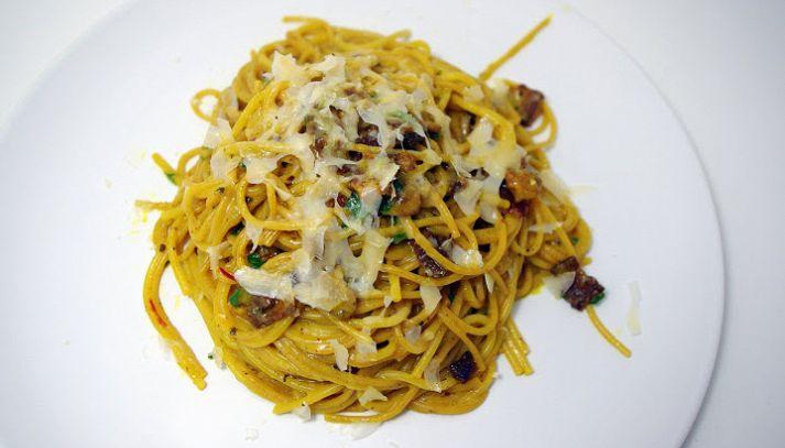 Spaghetti allo zafferano