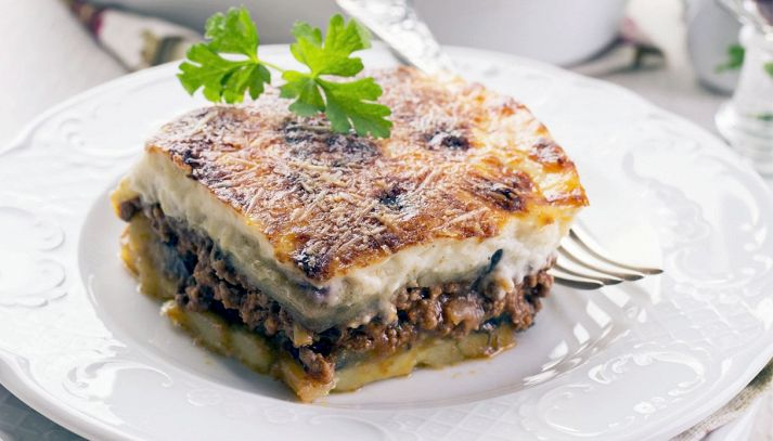 Moussaka con le patate