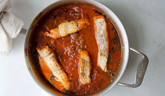 Finocchi in salsa