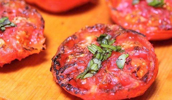 Pomodori agostani grigliati