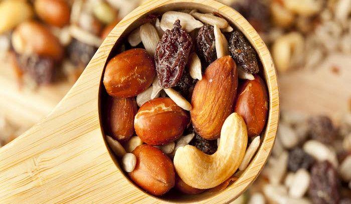 Frutta secca anti-stress