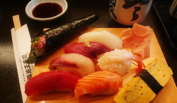 Sushi: così fresco da essere illegale
