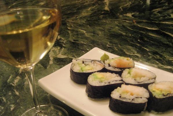 Sushi e vino, come abbinarli?