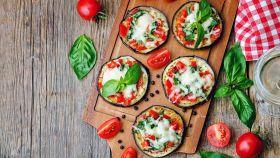 Pizzette di melanzane: veloci da preparare. Buonissime