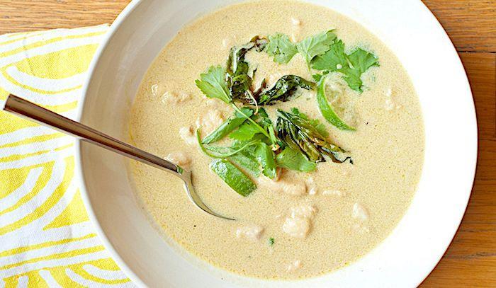 Zuppa di pesce al curry