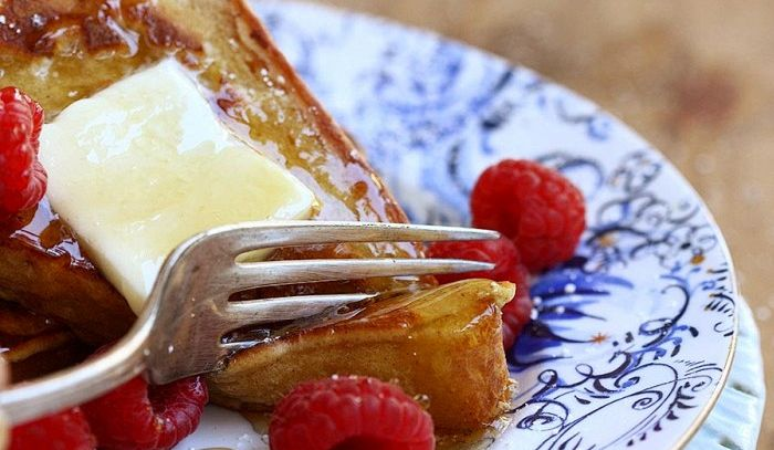 French toast con pancakes
