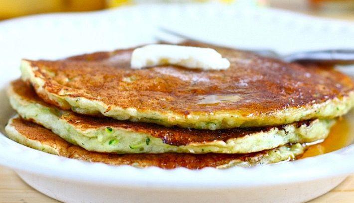 Pancakes dolci di zucchine