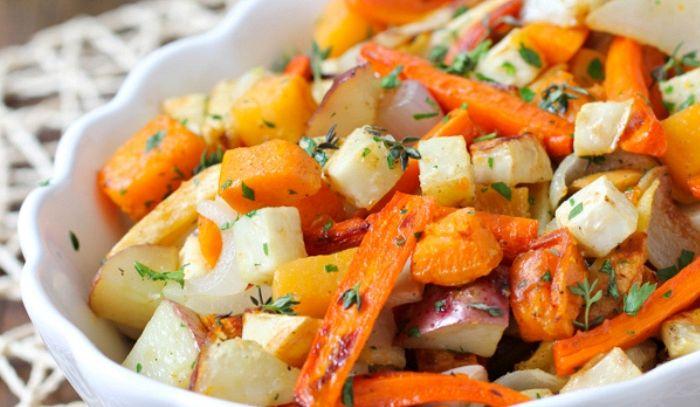 Insalata di verdure arrostite
