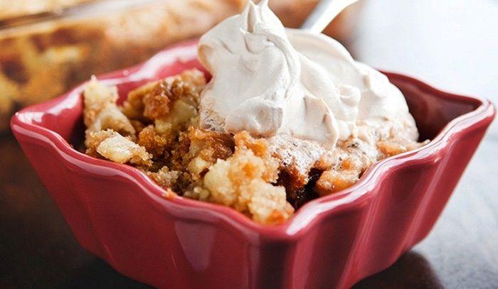 Pudding di mele