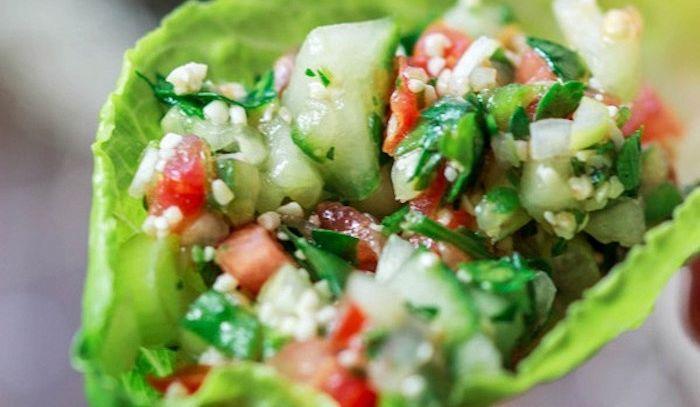 Bulgur all'insalata