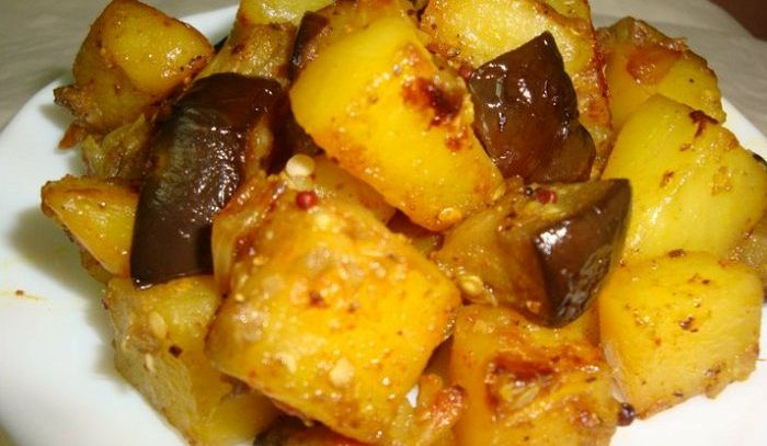 Melanzane e patate