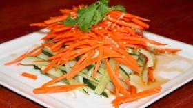 Arance e carote in insalata