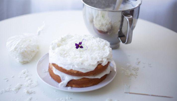 Cake haupia