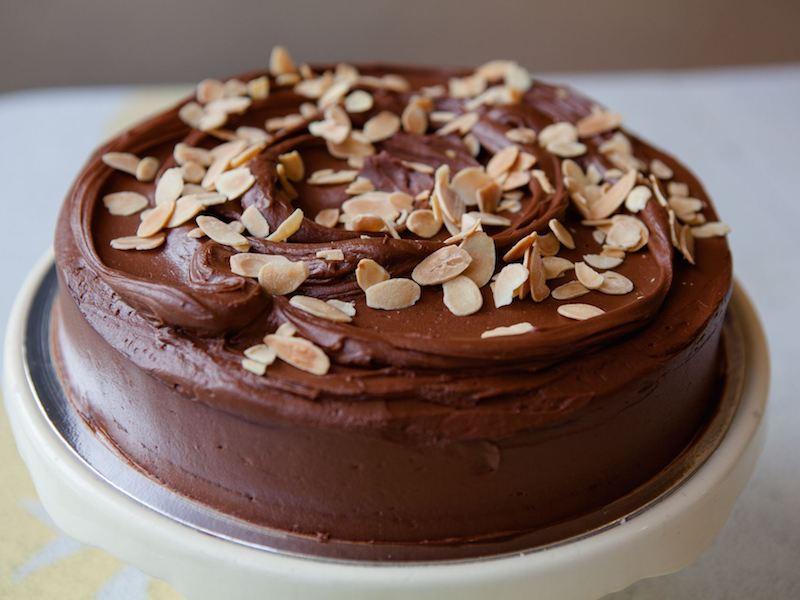 Ricetta torta con mandorle e cioccolato