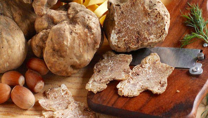 Valori nutrizionali del tartufo
