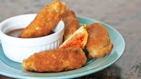 Bastoncini di pesce al formaggio
