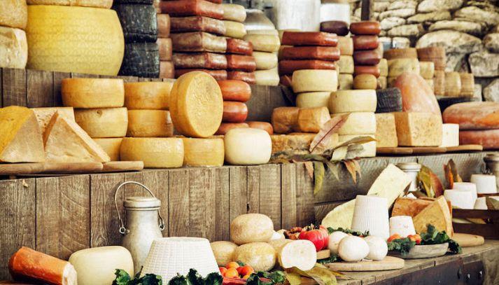 I formaggi tipici della Valle d'Aosta