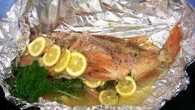 La cottura del pesce al cartoccio