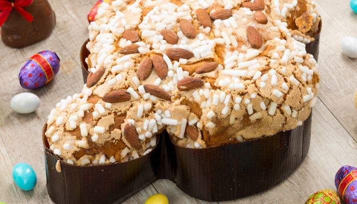Colomba di Pasqua light