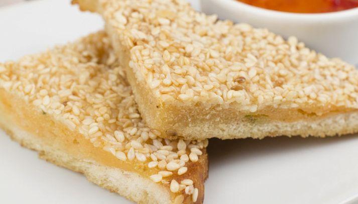 Toast fritto alla crema di sogliola