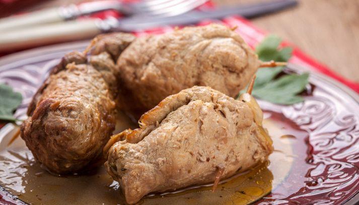 Fagottini di carne al sapore esotico