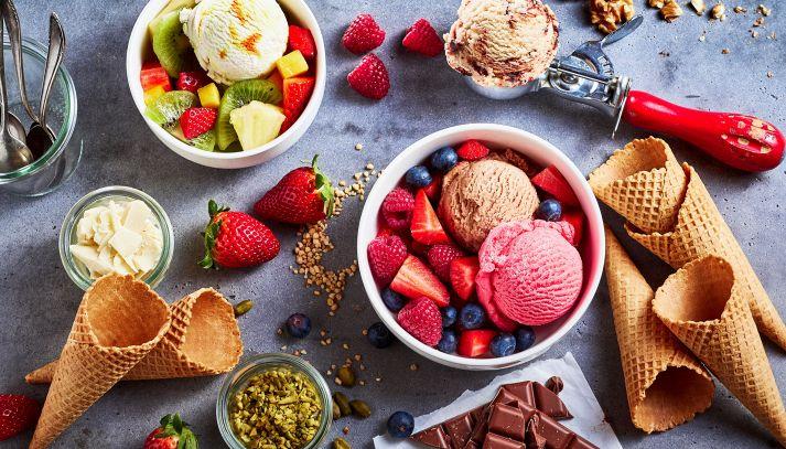 Come fare il gelato in casa senza gelatiera