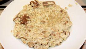 Risotto ai funghi champignon, pronto in 30 minuti