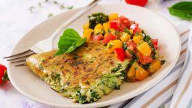 Leggera, saporita e profumata: la frittata di zucchine è il top
