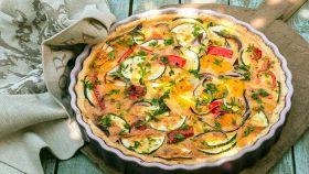 Torta salata e verdure, la ricetta più veloce di tutte