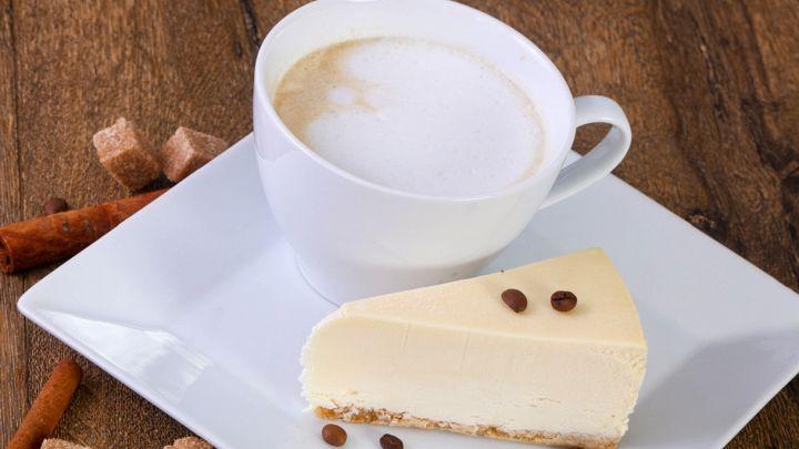 Cheesecake al caffè, un pieno di gusto e di energia