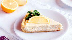 Cheesecake vegana al limone