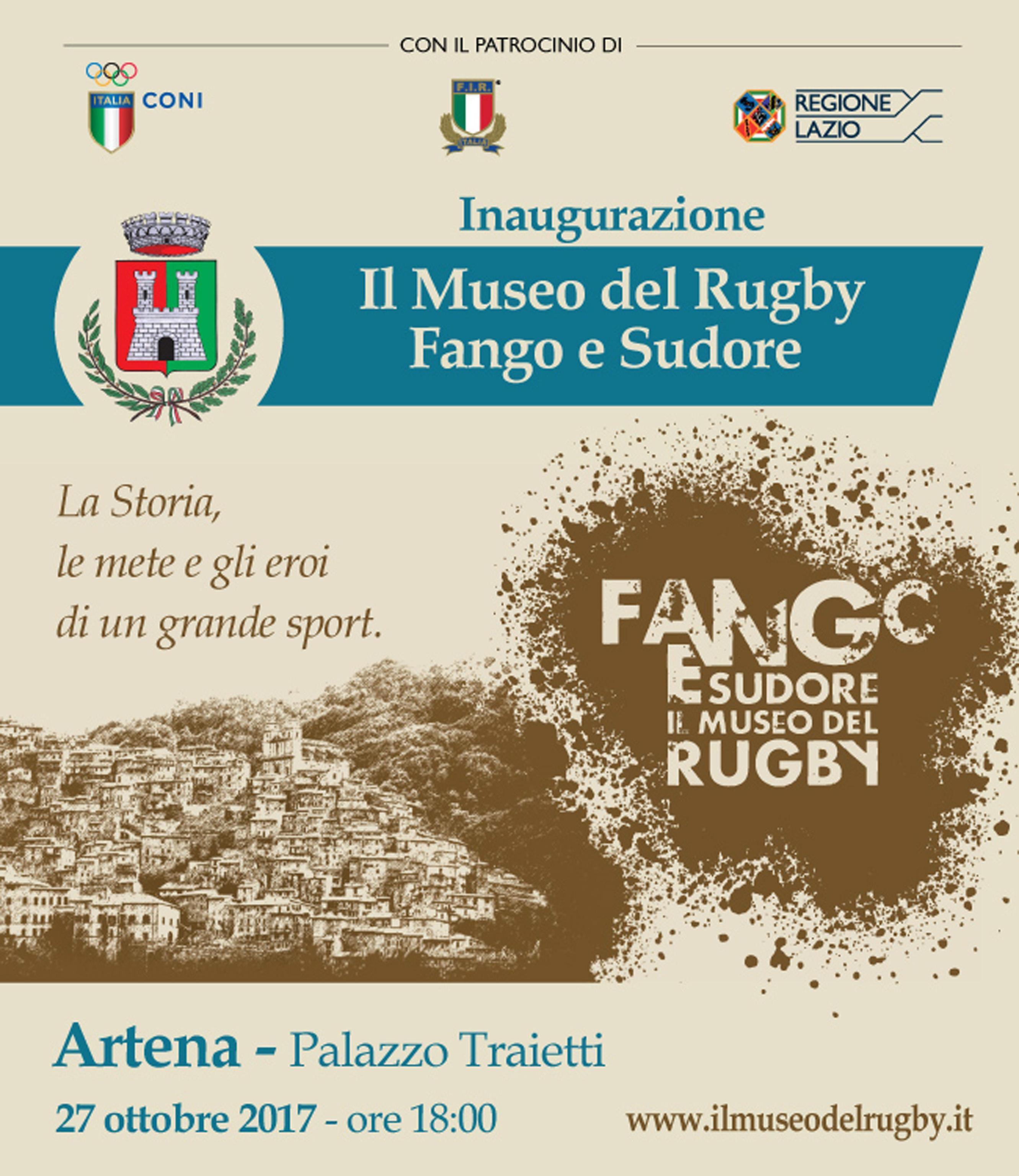 Rugby inaugurato il museo ad artena virgilio notizie for Nuovi piani coloniali in inghilterra