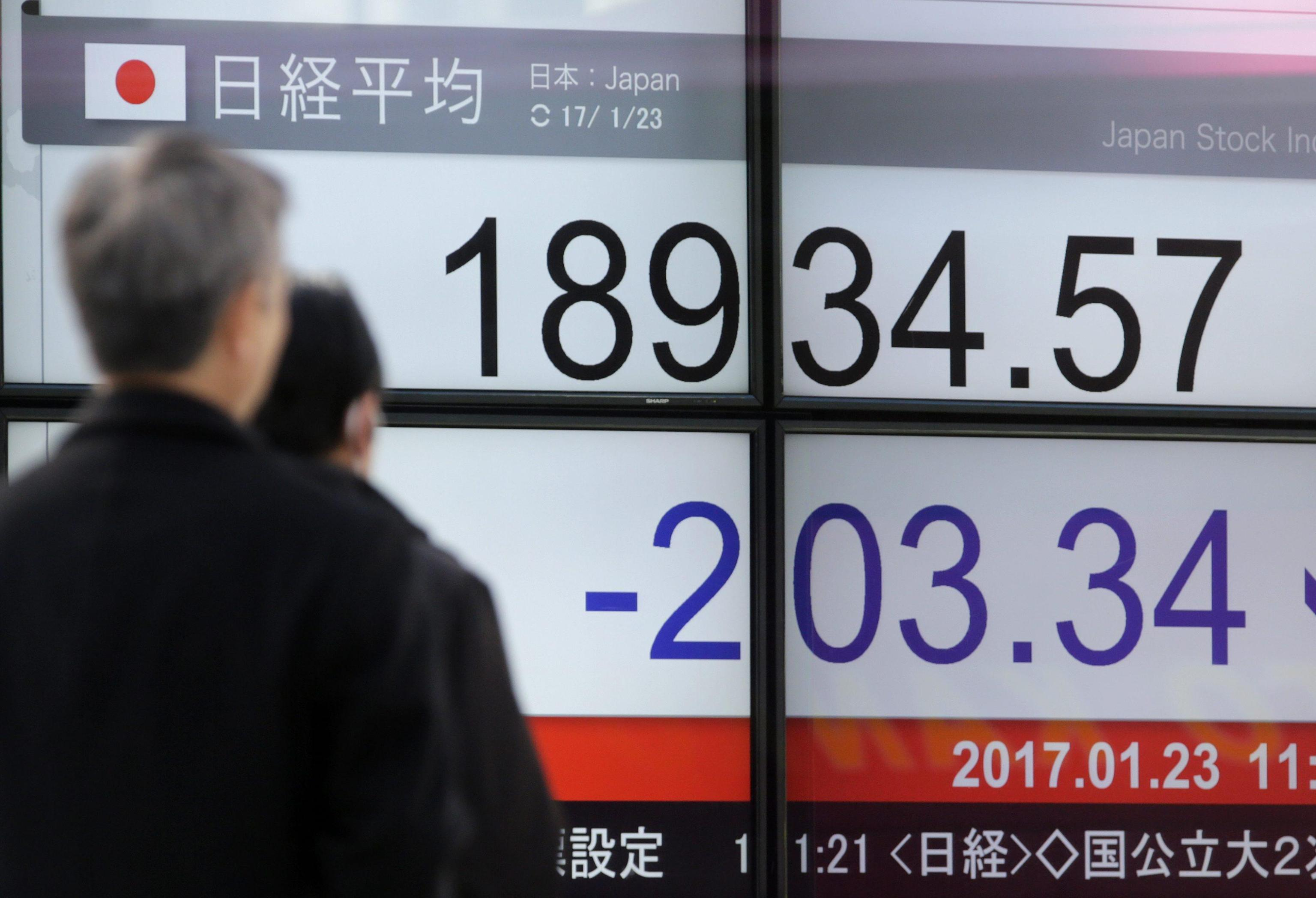 Borsa: Asia poco mossa, Tokyo -0,6%