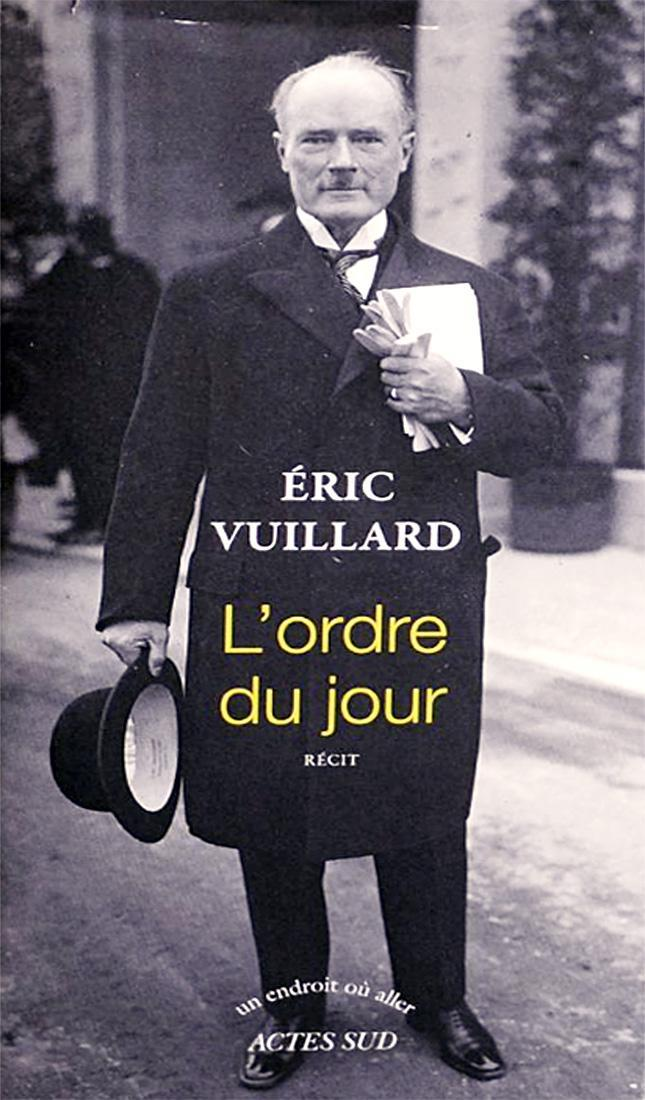 Il Goncourt 2017 a Eric Vuillard